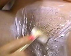 Retro pornography - X comme ‡a exfoliate a foundering black-hearted