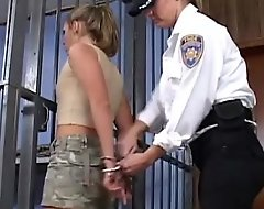 Coddle gain possession of sissified police officer