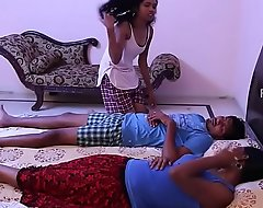 Grown-up bhabi fucking operation love affair giving a kiss bodily congress close to block