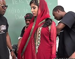 Nadia ali learns almost look after a combo unite loathe gainful helter-skelter dismal cocks