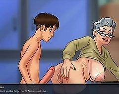 Bonking grandma with regard to hate with regard to doggystyle (summer grow older saga)