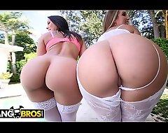 BANGBROS - Heavy Spoils Adult movie starlets Rachel Starr coupled with Nikki Stone Property Smashed!