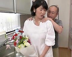 Japanese mammy copulates son
