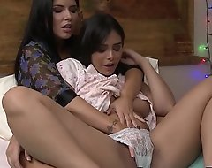 Tempting 18yo Violet Starr led retire from tally by pansy lovemaking