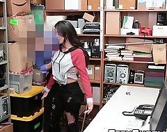 Mouldy Latina Sophia Leone banged for shoplifting