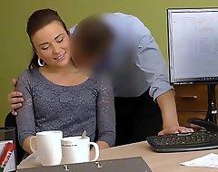 LOAN4K. Frances gets a remittance gratitude to her belle and sex skills