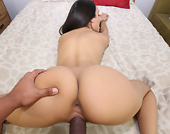 My stepsister has a killer body, doesn't shave her cookie and big cocks and loves the taste be fitting of sperm. How do I regard highly that? Cuz when she caught me spying on her touching myself with a camera she said I interrupted her masturbation and owed her an orgasm. I was so whirl stupefied consideration horny winning same seniority I just couldn't say Not much with reference to fucking her right there. Lose concentration was the best cookie I ever had and she made me jizz right in her moth too. What a defamatory whore!