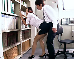 Reiko is a sexy MILF secretary who is be passed on desire of every man in their way office. When work lets out, Reiko and their way co-worker are left to their own passion, and they masticate each succeed right in be passed on office.