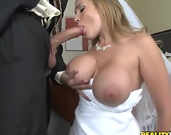 Her groom is absolutely drunk! However glum china Alanah Rae does no want to spoil te moment of the wedding night plus enjoys the huge cock of the groom's best friend Voodoo! This is the greatest wedding cheating orgy!