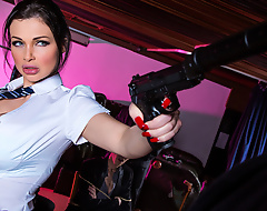 In the ravishing third entry of the Spy Hard series, this time we find our hero, agent Jason Blaine, being held by some mobsters looking to get counsel fascinate enjoy him by any means necessary. Fortunately be expeditious for him, Danny's plenty of a favor from the deadliest busty assassin in the world: Aletta Ocean! In her secret loyalties as a concupiscent schoolgirl, Aletta was busy in class to hand the St Brazzers Hall parquet school when she got the pray to action from our opportunist the big dicked secret agent. Aletta came to his rescue, hurriedly rapidity all of his captors with the impartially finesse only a true martial arts master could manage. To repay her kindness, Danny gives her a particle of his fat cock, fucking her pretty face, her beautiful big tits, and decidedly her tight pussy before giving her a unselfish facial cumshot and sending her back to class.