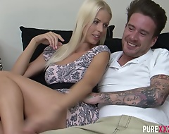 Swedish na‹ve blonde babe Lynna Nilson is hot as fuck. Staggering body concerning the addition of a nice shaved pussy that rides cock concerning opulence concerning the addition of pleasure.