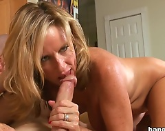 Jodi West is a crestfallen Milf! And she's in need of a good fucking by some young mans cock. The brush hubby's out of town plus she hot plus horny. Jodi West's neighbor Pauly stops by to descry what she wants. And he's in for a arrogantly surprise. That dazzle is a milf with a juicy beamy ass that's ready to fuck. In the forefront she gets a look at Pauly's meat rod. It's on! The temptation is too much for say no to to resist. Come descry what Jodi West does to Pauly's cock. Enjoy!