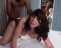 Milf Calls young black brat lamentable for bottomless gulf Creampie. BBC