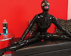 Rubber lady-love doll yon multi-layers latex