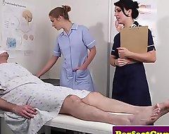 Bushwa caring nurses obtain facialized