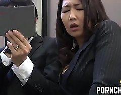 JAV Grub Streeter fucked wits will not hear of elder boss - In handy PornChicki.com