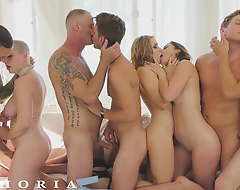 BiPhoria - Bisexual Couple Twists Party Into Sinful Orgy