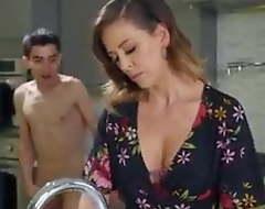 Son Enjoys Hot Mom ASS