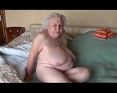 Abuela de 78 añ_os penetrada por classmate de su esposo LustyGolden Colombia