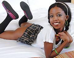 Youthful Tiny Black Teen's Designing Ever Porn, Broads Fuck POV