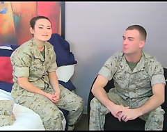 asian marine girl all round mom
