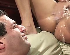 Cock-craving sluts acting wild anent fantastic group action