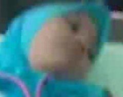 Jilbab biru ml asek