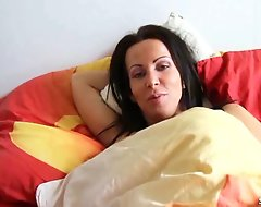 German Son Wakes up Step Mom and Seduces her give Fuck