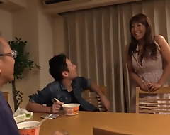 Japanese Mature Mom Acquires Fucked by Stepson's Best Band together