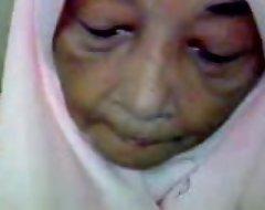 Malaysian granny oral-service intercourse