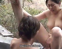 41ticket - rin & myu's poof three-some (uncensored jav)