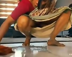 Desi hawt bhabhi cleaning with regard to house