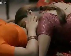 Hot women in saree kissing
