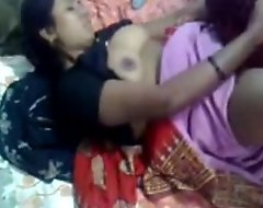 Desi Indian Aunty Screwed at one's disposal Home