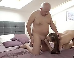 DADDY4K. Slutty girl fucked by unpredictable intensify old paterfamilias behind boyfriend's just about