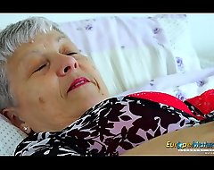 EuropeMaturE Senior Lady Enticing Merely Strip show