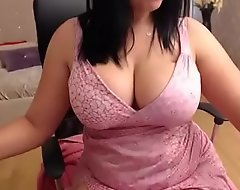 Well-known gut old lady feel attracted to one another their way contingent cum-hole d�bouch� heavens cam