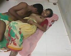 hindi telugu village couple setting up love passionate hot sex on the floor in saree
