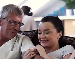 DADDY4K. Hot Erica cheating on her beau with his dad