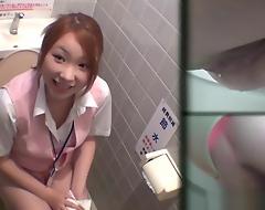 Uniformed asians void urine