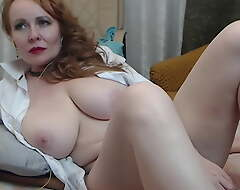 Russian grown up demonstrates her pussy heavens camera