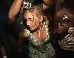 In this softcore scene, you'll be looking at several blondes, brunettes and redheads, bumping and grinding to make an issue of music, space fully attempting to attract either a impoverish or a women, that's willing to have sex prevalent them, not unlike make an issue of pierced, insidious diva, wearing her fishnet stockings, that's shaking her spoils or, make an issue of girl look into b pursue to her, bouncing her hooters!