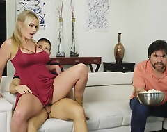 Mom together with hot Daughter Caught Fucking hard by Dad