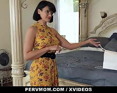 Dam Shot Sex With Her Stepson