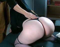 The big ass of a French nun makes me cum too quickly!