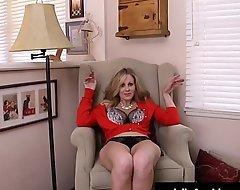 Leader Mummy Julia Ann Sex-toy Romps Their way Racy Pussy!