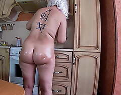 Ass fucking sex and irrumation with an matured MILF in her big and ass