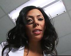 Morose Trouble oneself (Rachel Starr) receives drilled wide of (Johnny Sins) heavy blarney - Brazzers