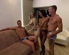 Sharpshooter SESSION THAT Mishandle INTO A Hermaphrodite ORGY POV VERSION 1