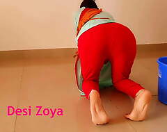 Ass fucking mating all over Indian maid at home all over clear Hindi audio